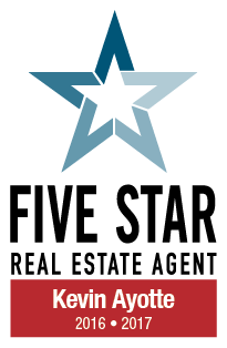 Kevin Ayotte - Five Star Real Estate Agent 2016-2017