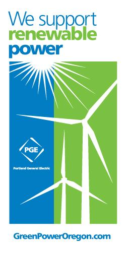 We support renewable power